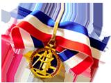 Médaille un des meilleurs ouvrier de france en taille de pierre