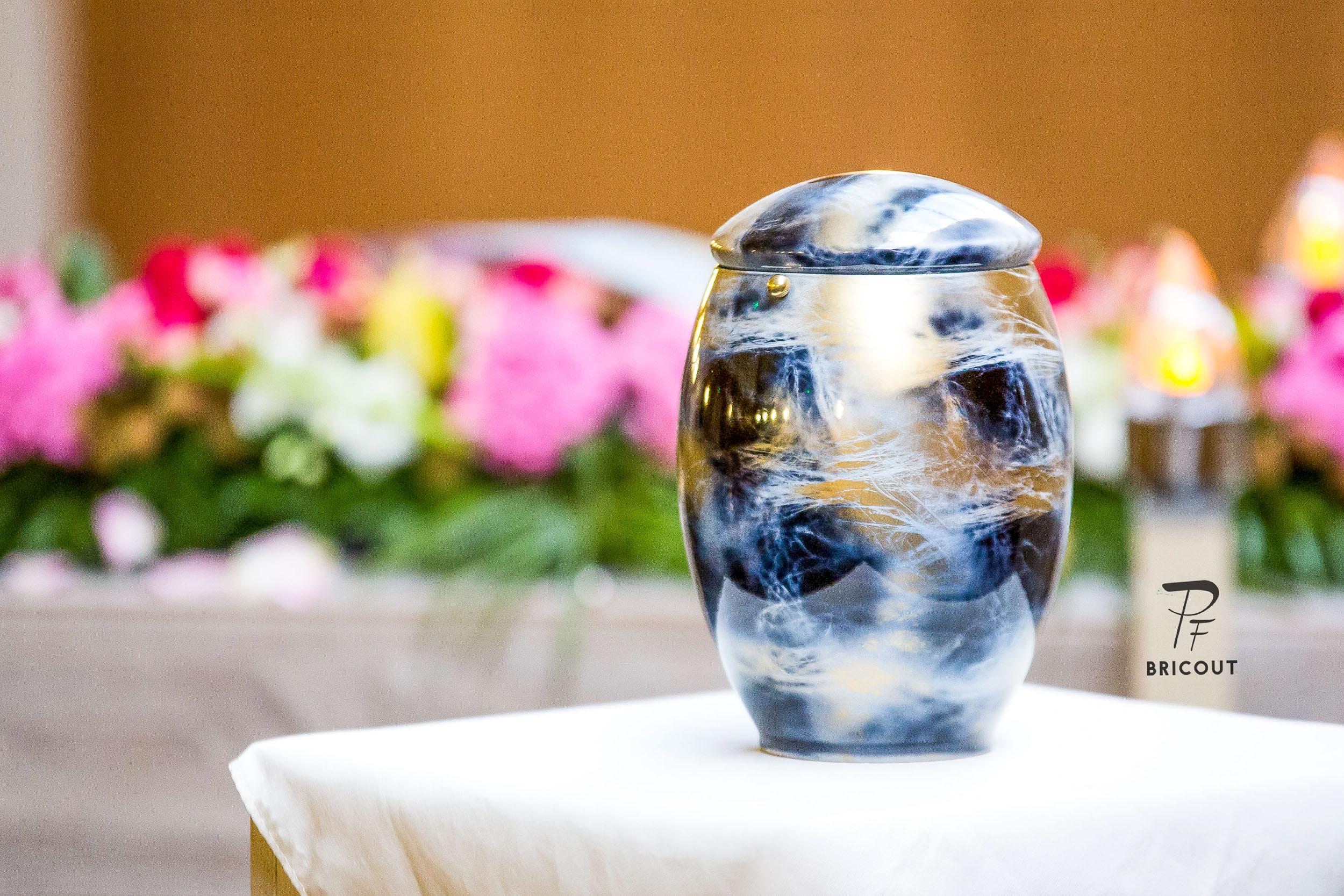 urne funéraire des pompes funebres de caudry